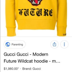 29bcde7fd Gucci Other | Bengal Hoodie | Poshmark